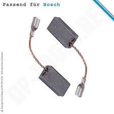 ESCOBILLAS DE CARBÓN DE MOTOR para Bosch GWS 6-115 E 5x8mm 1607014145