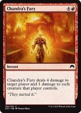 MTG Magic Origins 4x 4 x Chandra's Fury x4 ~ MINT ~ UNPLAYED Common M16