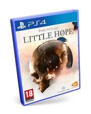 The Dark Pictures Anthology Little Hope PS4 Pal España Nuevo Precintado FISICO