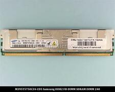 Samsung M395T5750CZ4-CD5 DDR2 Fully Buffered 2GB PC2-533Mhz 2Rx4 RAM Memory