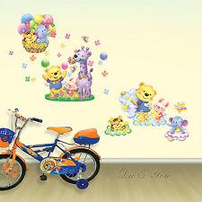 Wandtattoos Cartoon Tier Angel Friends Wandaufkleber Wandbilder für Kinderraum