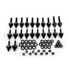 Black Fairing Bolts Kit for Kawasaki Ninja ZX6R/636/ZX6RR 2003 2004 2005 2006