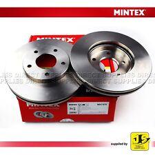 2X MINTEX FRONT BRAKE DISCS MDC1578 FITS FOR INFINITI ALMERA MAXIMA PRIMERA