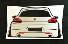 Volkswagen Scirocco Sticker / Decal Coilover Lowering Camber Wide Bodykit Style