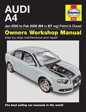 Haynes Werkstatt Reparaturanleitung Audi A4 05-08