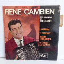 RENE  CAMBIEN La mamma / et pourtant ... 221213 MUSETTE ACCORDEON