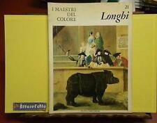 ART 6.093 RIVISTA I MAESTRI DEL COLORE N. 21 LONGHI  1964