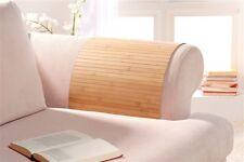 Lehnenschoner aus Bambus Sofatablett Ablage Armlehne Sofa, Farbe: nature 30x50cm