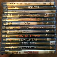 Lot of SEALED Blu-Rays - Passion, Notebook, Taken, Crazies, Big Fish + MORE!