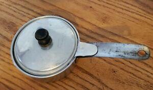 Vintage Aluminum Single Poached Egg Pan