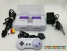 Super Nintendo Console System SNES Original Control *CLEANED TESTED **LIKE NEW*
