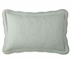 "Jcp Home Expressions Everly Quilted King Pillow Sham 20""x36"" Restoration Green"