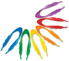 Learning Resources 6 Jumbo Easy Grip Plastic Tweezers for Children