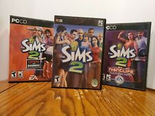 Sims 2 (PC, 2004) with 3 Expansion Packs
