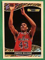 1993-94 Topps Black Gold Basketball PERVIS ELLISON Washington Bullets #22, NRMT