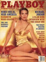 PLAYBOY MAY 1992 Vickie Anna Nicole Smith Miss America Elizabeth Ward Gracen