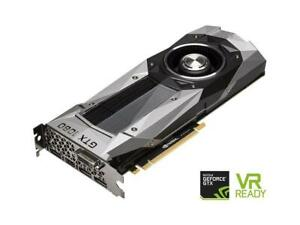 EVGA GeForce GTX 1080 Founders Edition, 8GB GDDR5X LED DX12 OSD Support (PXOC)
