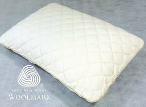 Regular Removable/Washable Wool-Layered Pillow Protector Organic Cotton Cover