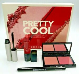 Bobbi Brown 4 Pc Set: Eye, Cheek and Lip Kit new in box + Free Shipping SEE PICS