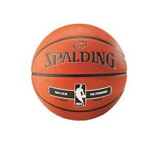 Spalding - Baloncesto NBA Silver - Tamaño 5