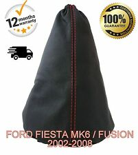 FORD FIESTA MK6 / FUSION  2002-2008 ITALIAN LEATHER GEAR STICK COVER GAITER