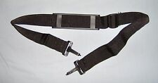 "Shoulder Strap - Adjustable Sliding Pad - Black - 1.5"" W x 51"" L - Universal Use"