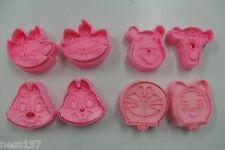 8 Moules Gateaux de Mickey Emporte Pieces Pate à Sucre & d'amande Cake Design