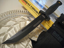 """United Combat Commander Tanto Toothpick Tactical Knife Aus-8 10 1/2"""" UC3028 New"""