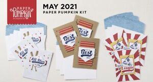 Stampin' Up! Batter Up May 2021 Paper Pumpkin Full Kit