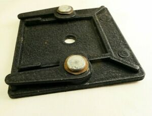 Tripod slide Plate shoe  73X73mm  for camera tripod 6X6