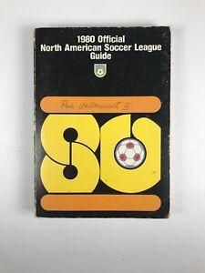 Vintage 1980 North American Soccer NASL League Media Guide
