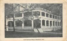 COLD SPRINGS HOTEL Hamilton, Indiana 1919 Vintage Postcard