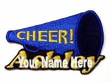 Cheerleading Custom Iron-on Patch With Name Personalized Free