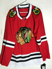 AUTHENTIC ADIDAS ADIZERO NHL JERSEY CHICAGO BLACKHAWKS TEAM RED SZ 54