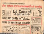 CANARD ENCHAINÉ Birthday Newspaper JOURNAL NAISSANCE 19 SEPTEMBRE SEPTEMBER 1984