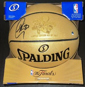 Stephen Curry Signed 2018 NBA Champs #460/2018 Gold Autograph Basketball STEINER