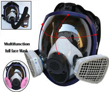 Dual Use 3M 6800 Full Face Respirator Facepiece Spraying Pesticide Painting Mask