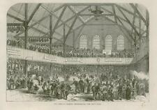 1868 - LONDON WHITECHAPEL Peoples Market East End      (76B)