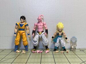 Bandai Dragon Ball Shodo 3.75 Super Articulated Action Figures Gohan Buu Gotenks