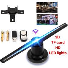 LED WIFI 3D Hologram Projector Holographic 42cm Advertising Fan Displayer Kit US