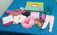 "LARGE LOT OF "" AMERICAN GIRL"" THINGS, CLOTHES,SHOES/PHOTO ALBUM/SHOES ACC."
