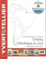 YVERT & TELLIER 2019 STAMPS CATALOG OF SOUTH AMERICA - SPECIAL ARGENTINA