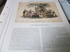 Vienne Archive 11 tradition 6034 populaire scene en mm. prater J.A. Krafft/J.M. passini