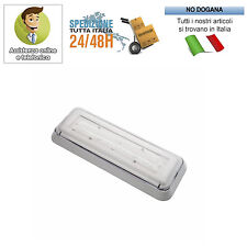 LAMAPADA EMERGENZA PARETE A LED ANTI BLACK OUT ELIOS PERRY A LED 1LED IP42