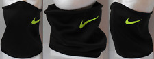 NIKE Youth Unisex Thermal Neck Face Warmer Color Black/Volt Size OSFM New