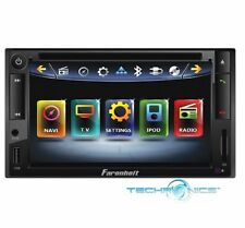 "FARENHEIT 6.5"" TOUCHSCREEN DVD PLAYER BLUETOOTH USB IPOD CAR RECEIVER HD MONITOR"