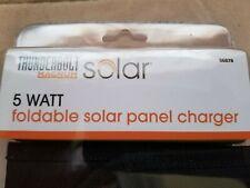 Solar 5 Watt Foldable Solar Panel Charger Thunderbolt Magnum Z29