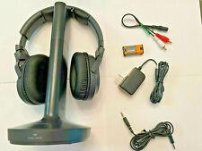 Sony Wh-Rf400 Rf Wireless Home Theater Headphones, Black