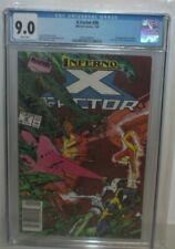 X-FACTOR #36 CGC 9.0 X-MEN ARCHANGEL MARVEL 1989 NEWSSTAND