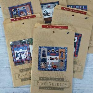 Vintage Pine Needles Patterns Quilt Designs by Mckenna Ryan